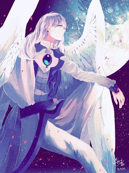Tags: Anime, Pixiv Id 2603770, Cardcaptor Sakura, Yue (Cardcaptor Sakura), Asymmetrical Clothing, PNG Conversion, Mobile Wallpaper, Pixiv, Fanart From Pixiv, Fanart