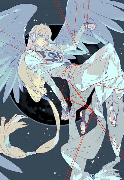 Tags: Anime, Pixiv Id 4056642, Cardcaptor Sakura, Yue (Cardcaptor Sakura), Tsukishiro Yukito, Fanart, Fanart From Pixiv, Pixiv
