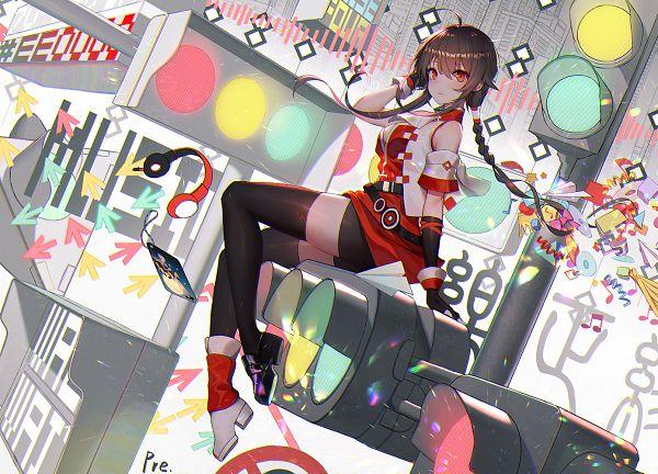 Tags: Anime, Pixiv Id 17194196, VOCALOID, Yuezheng Ling, Fanart From Pixiv, Pixiv, Fanart