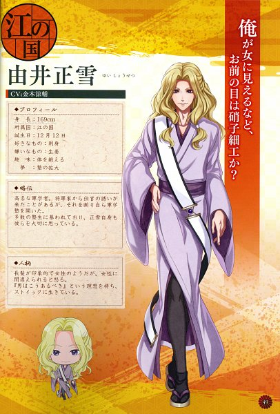 Tags: Anime, GCREST, Akane Sasu Sekai de Kimi to Utau, Yui Shousetsu, Scan, Official Character Information, Official Art, Character Sheet, Self Scanned
