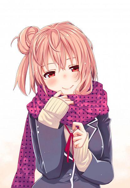 Tags: Anime, Akino Sora, Yahari Ore no Seishun Love Come wa Machigatteiru, Yuigahama Yui, Spotted Neckwear, Fanart From Pixiv, Mobile Wallpaper, PNG Conversion, Pixiv, Fanart