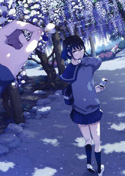 Tags: Anime, Yuikawa Kazuno, Eshi 100-nin Ten 04, Scan