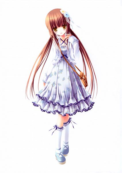 Tags: Anime, Tinkerbell, Love Kano, Yuikawa Nana, Official Art, Scan, Mobile Wallpaper