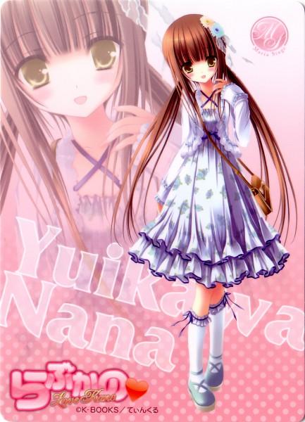 Tags: Anime, Tinkerbell, Love Kano, Yuikawa Nana, Official Art, Mobile Wallpaper