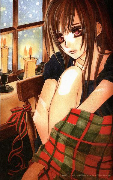 Tags: Anime, Hino Matsuri, Vampire Knight, Yuki Cross, Official Art, Scan, Mobile Wallpaper