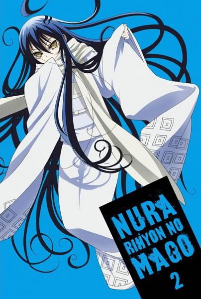 Tags: Anime, Nurarihyon no Mago, Yuki Onna (Nurarihyon), Oikawa Tsurara, Yuki Onna, Official Art, Scan, DVD (Source)