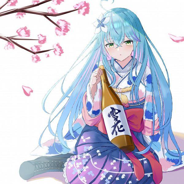 Tags: Anime, Pixiv Id 47198601, Hololive, Lamy Ch., Yukihana Lamy, Pixiv, Fanart, Fanart From Pixiv
