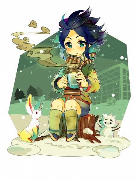 Tags: Anime, Pixiv Id 1219295, Inazuma Eleven GO, Inazuma Eleven, Yukimura Hyouga, Pixiv, Fanart, Fanart From Pixiv