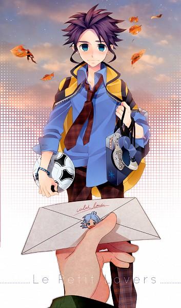 Tags: Anime, Pixiv Id 3182019, Inazuma Eleven, Inazuma Eleven GO, Yukimura Hyouga, Fubuki Shirou, Checkered Pants, Checkered Neckwear, Pixiv, Fanart, Fanart From Pixiv