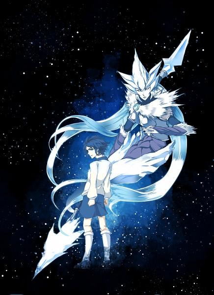 Tags: Anime, Pixiv Id 2094082, Inazuma Eleven GO, Gousetsu No Saia, Yukimura Hyouga, Fanart, Mobile Wallpaper, Pixiv, Keshin