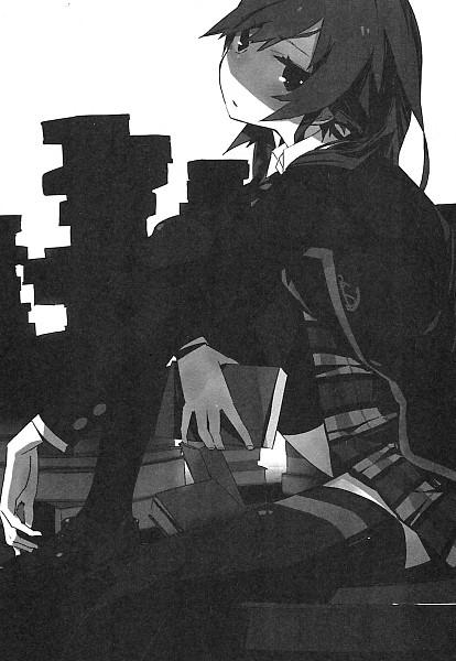 Tags: Anime, Ponkan Eight, Yahari Ore no Seishun Love Come wa Machigatteiru, Yukinoshita Yukino, Official Art, Scan, Novel Illustration