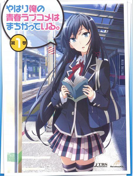 Tags: Anime, Brains Base (Studio), Yahari Ore no Seishun Love Come wa Machigatteiru, Yukinoshita Yukino, Sopresa, Station, Scan, DVD (Source), Official Art