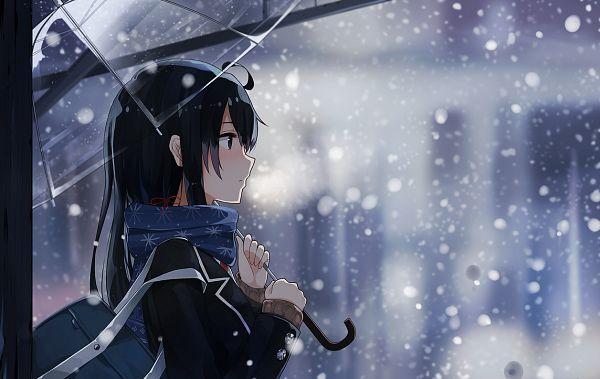 Tags: Anime, Pixiv Id 5572922, Yahari Ore no Seishun Love Come wa Machigatteiru, Yukinoshita Yukino, PNG Conversion