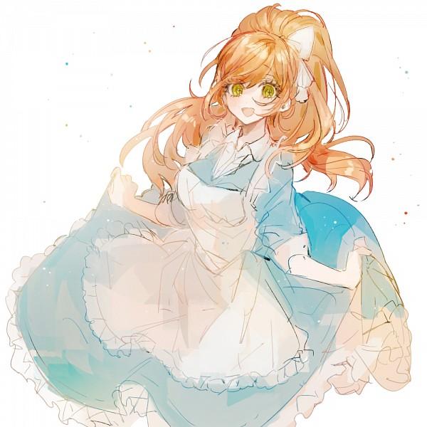 Tags: Anime, Pixiv Id 4282910, Danganronpa 3: The End of Kibougamine Gakuen - Zetsubou-hen, Yukizome Chisa, Fanart From Pixiv, PNG Conversion, Pixiv, Fanart