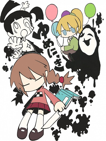 Tags: Anime, Pixiv Id 831187, Yume Nikki, Monoko, Madotsuki, Uboa, Poniko, Dream Diary