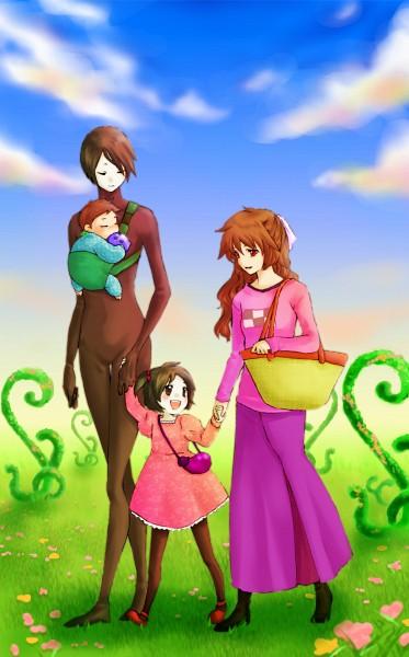 Tags: Anime, Pixiv Id 2842986, Yume Nikki, Sekomumasada Sensei, Madotsuki, Daughter, Mobile Wallpaper, Pixiv, Dream Diary