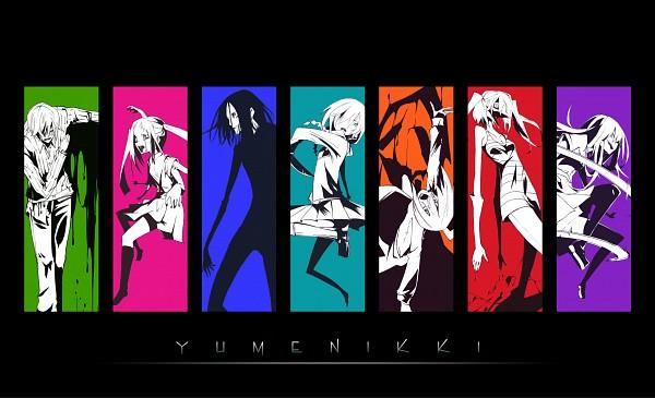 Tags: Anime, Kuroneko No Toorimichi, Yume Nikki, Poniko, Monoko, Sekomumasada Sensei, Monoe, Shitaisan, Madotsuki, Uboa, Toriningen, Bowing, Pixiv, Dream Diary