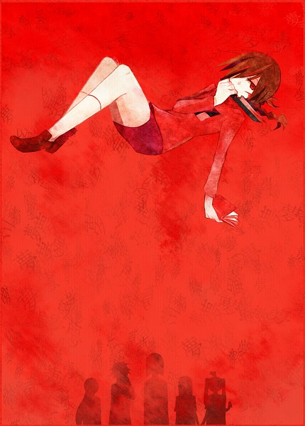 Tags: Anime, Shokushu Ura, Yume Nikki, Monoko, Monoe, Sekomumasada Sensei, Madotsuki, Shitaisan, Poniko, Text Background, Extra Arms, Fanart, Mobile Wallpaper, Dream Diary