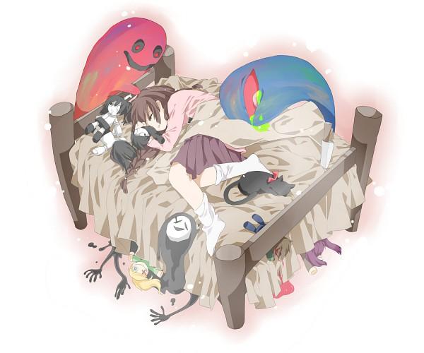 Tags: Anime, Pixiv Id 2087952, Yume Nikki, Kyukyu-kun, Monoko, Black Cat (Yume Nikki), Sekomumasada Sensei, Monoe, Mars-san (Yume Nikki), Shitaisan, Madotsuki, Uboa, Toriningen, Dream Diary
