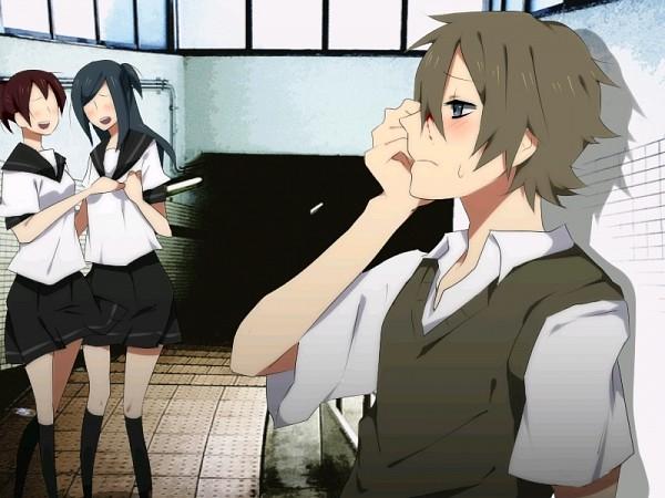 Tags: Anime, Kureopatora, Yume Nikki, Shitaisan, Pixiv, Fanart, Dream Diary
