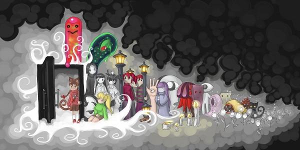 Tags: Anime, Yume Nikki, Kyukyu-kun, Ittan-momen, Monoko, Mars-san (Yume Nikki), Sekomumasada Sensei, Dave Spector, Monoe, Tokuto-kun, Eye Man (Yume Nikki), Madotsuki, Yuki Onna (Yume Nikki), Dream Diary