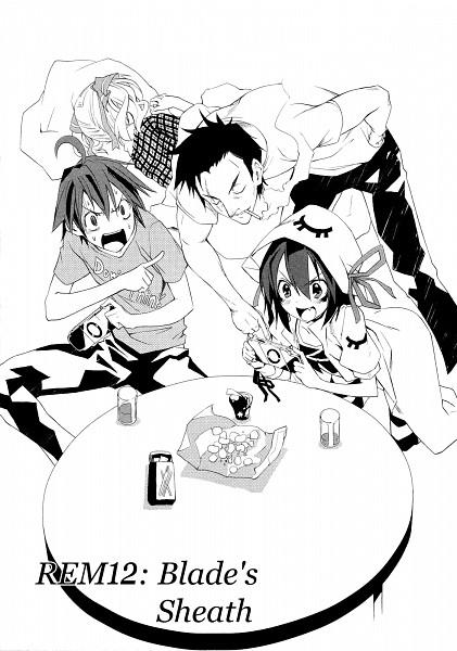 Tags: Anime, Yumekui Merry, Tachibana Isana, Tachibana Father, Merry Nightmare, Fujiwara Yumeji, Chapter Cover, Official Art, Manga Page, Dream Eater Merry
