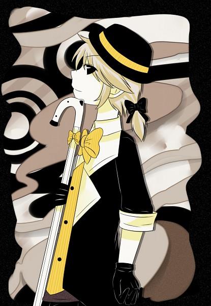 Tags: Anime, Saphred33, VOCALOID, Kagamine Len, Yumekui Shirokuro Baku, deviantART, Dream-eating Monochrome Baku