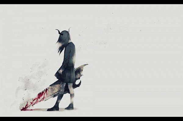 Tags: Anime, Yumeno Yume, Chainsaw, Original