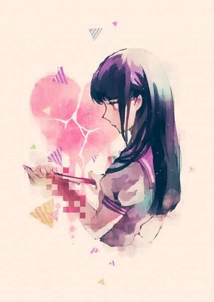 Tags: Anime, Yumeno Yume, Self-harm, Pixiv, Original, Mobile Wallpaper