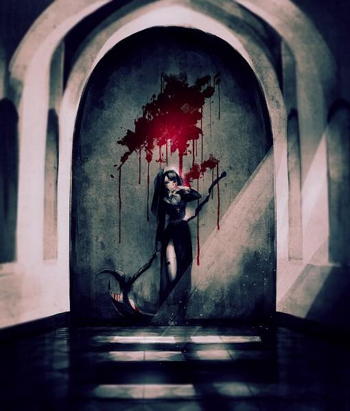 Tags: Anime, Yumeno Yume, Blood On Weapons, Original, Pixiv
