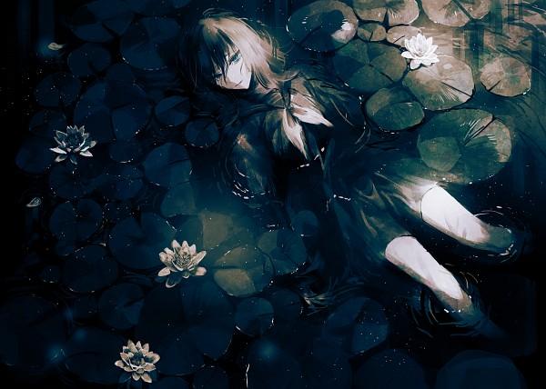 Tags: Anime, Yumeno Yume, Ophelia (Painting), Pixiv, Original