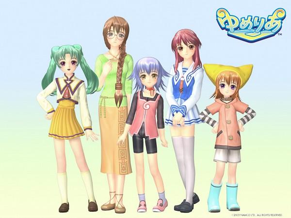 Tags: Anime, Yumeria, Neneko, Senjou Nanase, Mone, Senjou Kuyou, Agatsume Mizuki, Cat Hat