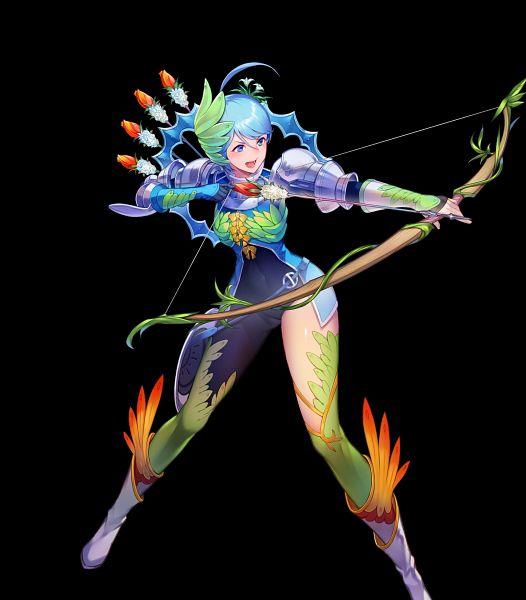 Tags: Anime, Kakage, Intelligent Systems, Fire Emblem Heroes, Genei Ibun Roku #FE, Yumizuru Eleanora, Official Art