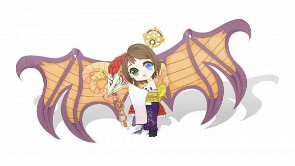 Tags: Anime, Final Fantasy X, Yuna, Artist Request, Wallpaper, HD Wallpaper