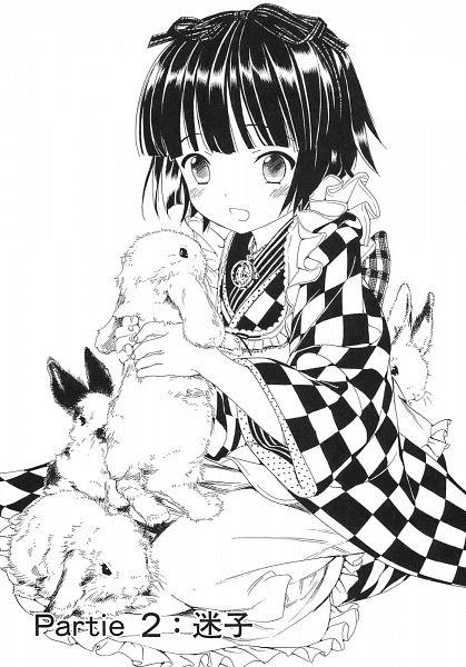 Tags: Anime, Takeda Hinata, Ikoku Meiro no Croisée, Yune (Ikoku Meiro no Croisee), Scan, Official Art, Mobile Wallpaper, Manga Page, Chapter Cover