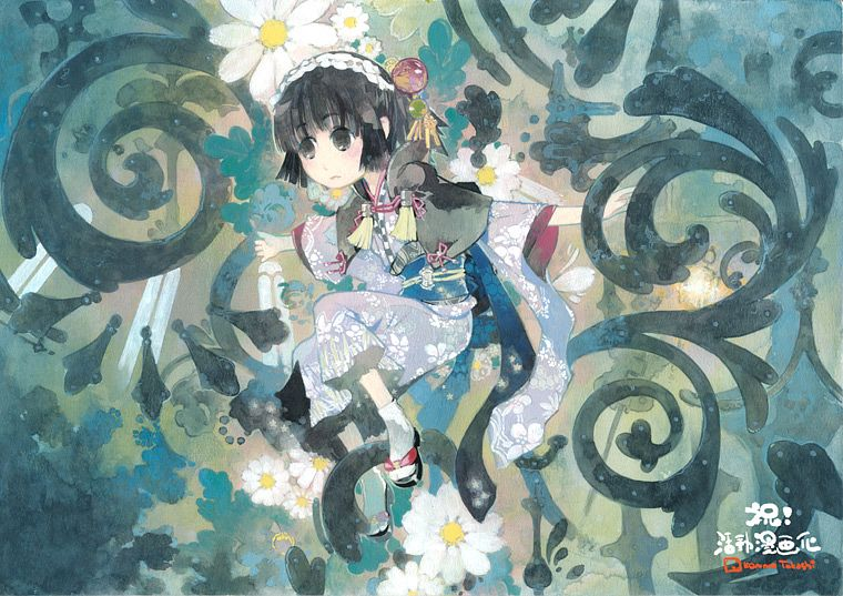 Tags: Anime, Konno Takashi (Frontier Pub), Ikoku Meiro no Croisée, Yune (Ikoku Meiro no Croisee), Ikoku Meiro No Croisee - Official Website Illustrations