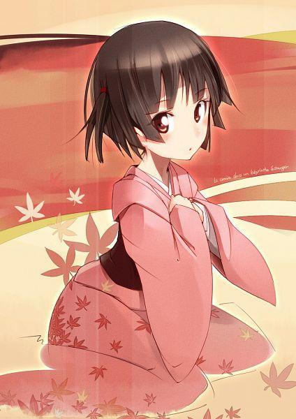 Tags: Anime, Pomon Illust, Ikoku Meiro no Croisée, Yune (Ikoku Meiro no Croisee), Mobile Wallpaper, Fanart, Pixiv