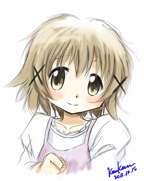 Tags: Anime, Kem Kem, Hidamari Sketch, Yuno (Hidamari Sketch), Fanart From Pixiv, Pixiv, Fanart