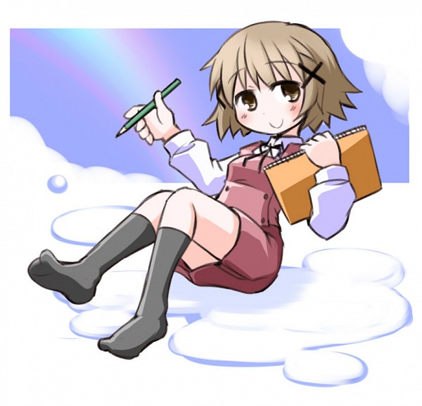 Tags: Anime, Kugelschreiber, Hidamari Sketch, Yuno (Hidamari Sketch)