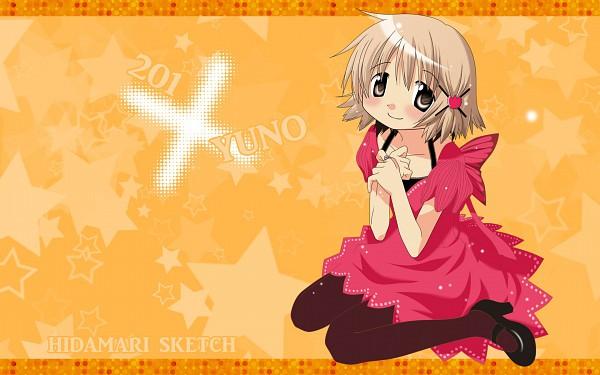 Tags: Anime, Aozora (Syun8823), Hidamari Sketch, Yuno (Hidamari Sketch), Wallpaper