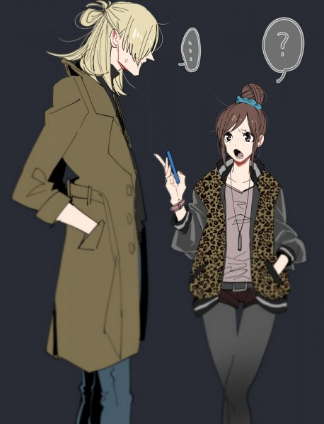 Tags: Anime, con_potata, Yuri!!! On Ice, Yuri Plisetsky, Nishigori Axel, Leggings, Fanart, Twitter