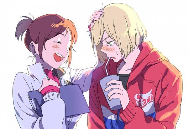 Tags: Anime, Pixiv Id 1763823, Yuri!!! On Ice, Nishigori Yuuko, Yuri Plisetsky, Fanart From Pixiv, Pixiv, Fanart