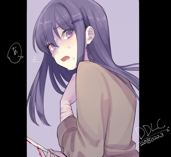 Tags: Anime, Pixiv Id 3786616, Doki Doki Literature Club!, Yuri (Doki Doki Literature Club!)