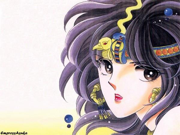 Tags: Anime, Shinohara Chie, Red River (Series), Yuri Ishtar, Manga Page, Scan