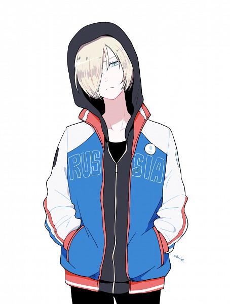 Tags: Anime, Pixiv Id 1616144, Yuri!!! On Ice, Yuri Plisetsky, Pixiv, Mobile Wallpaper, Fanart, Fanart From Pixiv