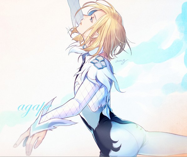 Tags: Anime, Pixiv Id 7477397, Yuri!!! On Ice, Yuri Plisetsky, Skating, PNG Conversion