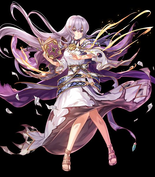 Tags: Anime, Intelligent Systems, Fire Emblem Heroes, Yuria (Fire Emblem), Artist Request, Official Art, Julia (fire Emblem)