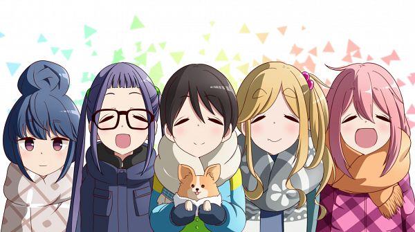 Tags: Anime, Pixiv Id 2573540, Yuru Camp, Inuyama Aoi, Oogaki Chiaki, Shima Rin, Kagamihara Nadeshiko, Saitou Ena