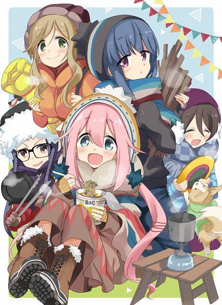 Tags: Anime, Hizuki Yayoi, Yuru Camp, Saitou Ena, Inuyama Aoi, Oogaki Chiaki, Shima Rin, Kagamihara Nadeshiko