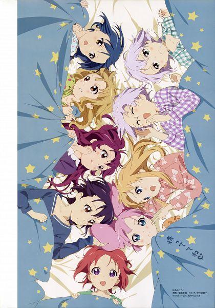Tags: Anime, Nakajima Chiaki, Dogakobo, Yuru Yuri, Megami #141 2012-02, Toshinou Kyouko, Sugiura Ayano, Ikeda Chizuru, Akaza Akari, Ikeda Chitose, Oumuro Sakurako, Funami Yui, Yoshikawa Chinatsu